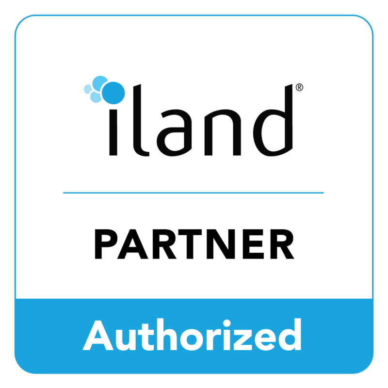 Iland authorized partner logo